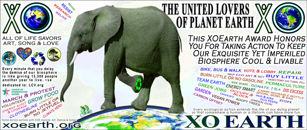 Preview and print a lot of cool looking XOEarth Awards and XOEarth Money here.